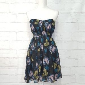 Urban Outfitters Kimchi Blue Strapless Dress S